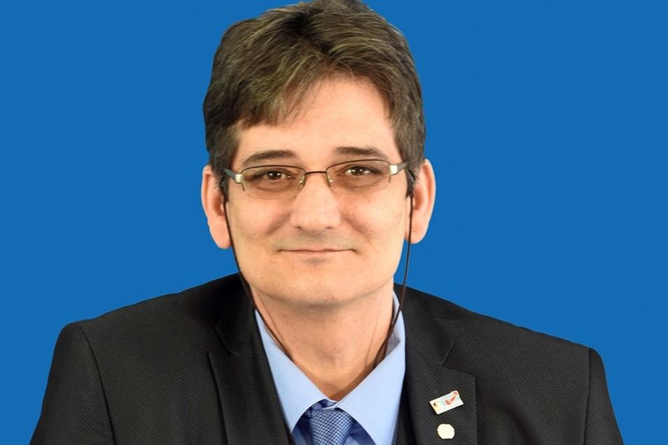 Thomas Prinz wurde für die AfD in den Freitaler Stadtrat gewählt. Nun will ihn die Partei loswerden.
