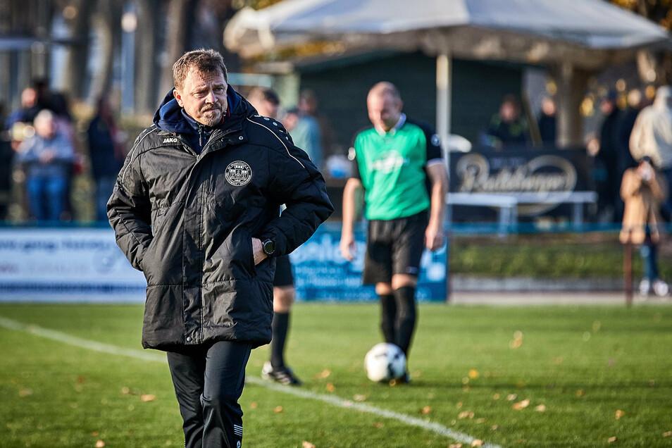 Sieht den Staffel-Wechsel mit gemischten Gefühlen: Uwe Rahle, Trainer des SV Wesenitztal. Foto: Marko Förster