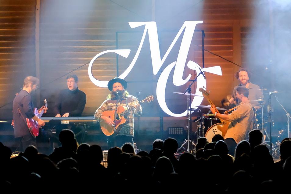 """Am Freitag spielte """"Mighty Oaks"""" auf dem Konzertplatz Weißer Hirsch in Dresden."""