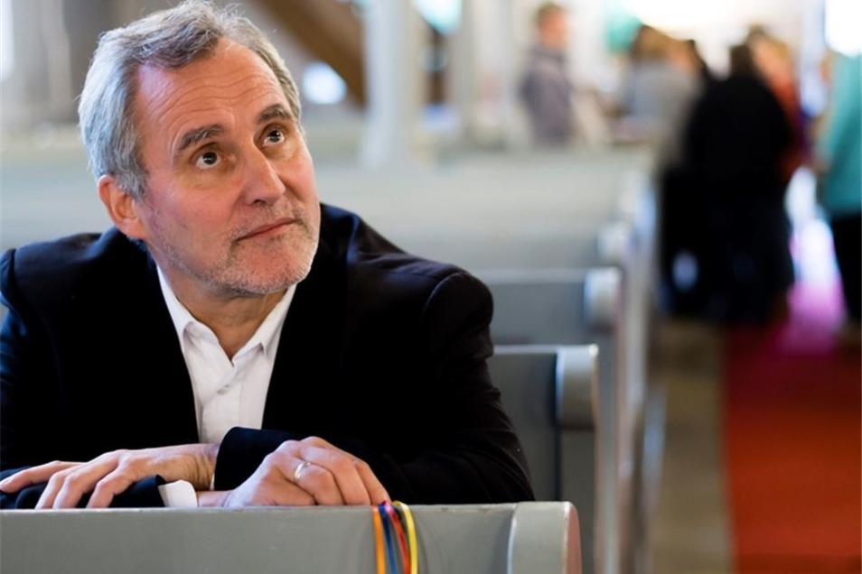 Pfarrer Michael Schleinitz öffnete die Kirche für Besinnung und Gebete.