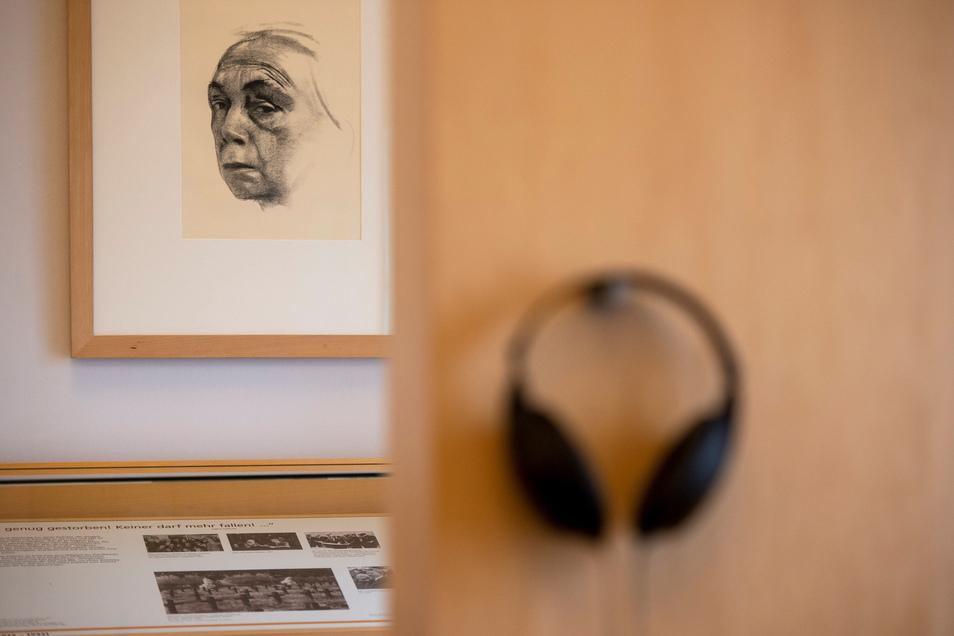 Seit 1995 gibt es die Gedenkstätte im einstigen Rüdenhof. Im Obergeschoss befindet sich eine Ausstellung.