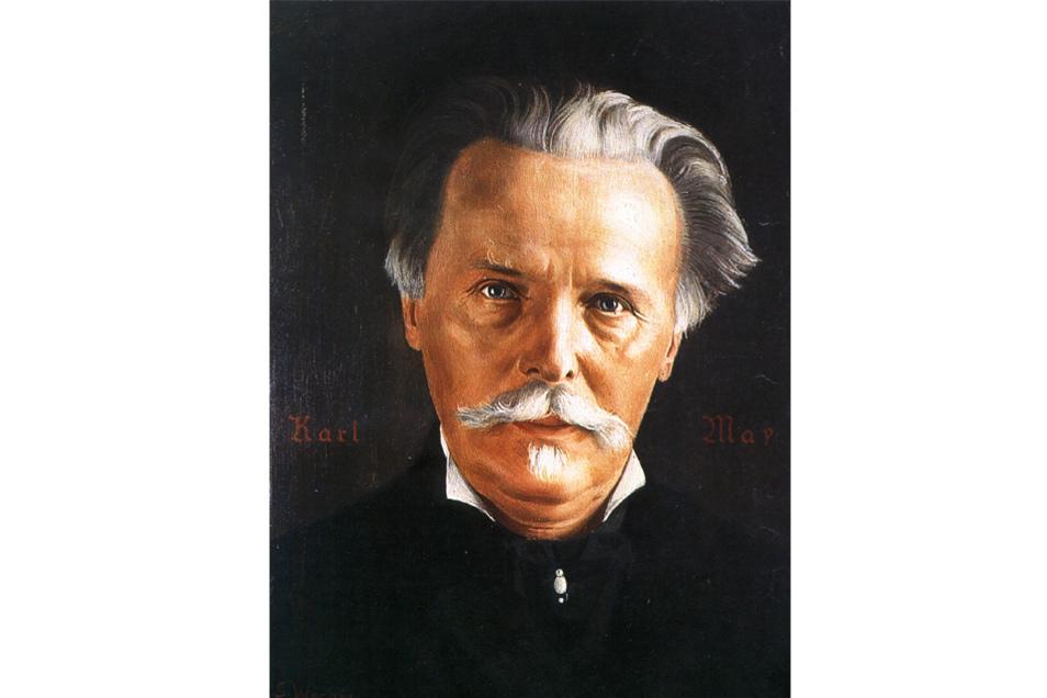 Eine der berühmtesten Persönlichkeiten Radebeuls: Schriftsteller Karl May.