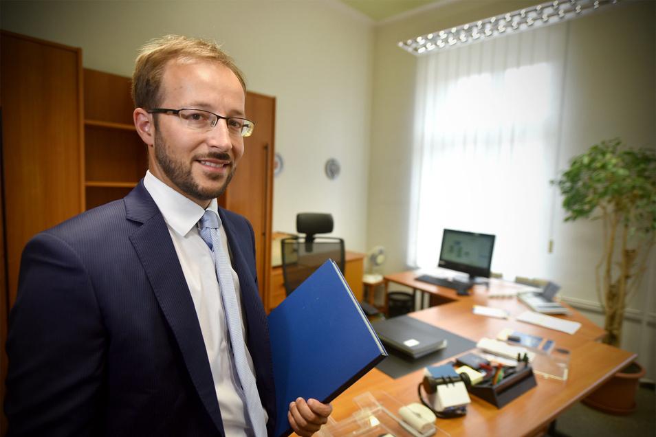 Philipp  Fay geht: Der Zittauer Bürgermeister wird nur noch bis Ende des Monats in der Stadtverwaltung anzutreffen sein.