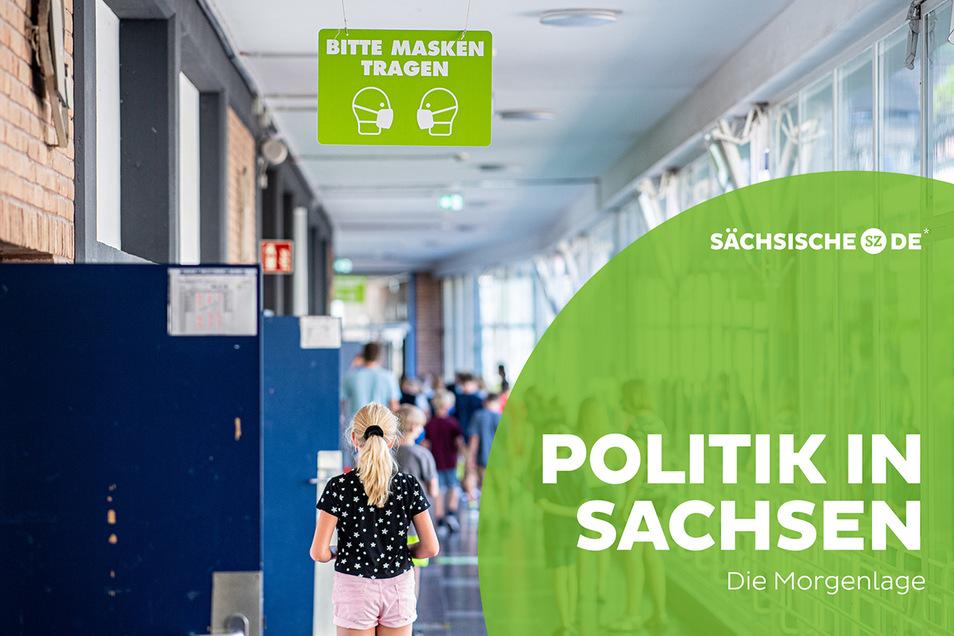 In einem offenen Brief an die sächsische Regierung haben Kreiselternräte aus Bautzen und Görlitz die Abschaffung der Maskenpflicht in Schulen gefordert.
