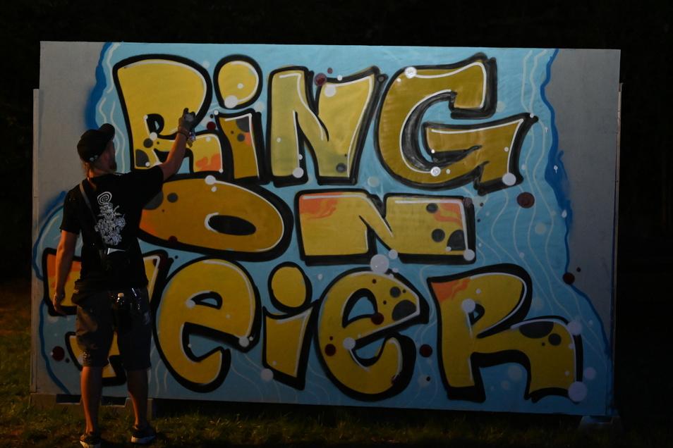 """Verschiedene Künstler zeigten bei """"Ring on Feier"""" am Sonnabend ihr Können."""