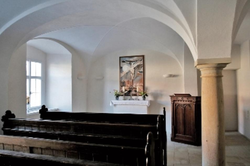 Seit zwei Jahren ist die Kapelle im Herrenhaus Niederjahna fertig.