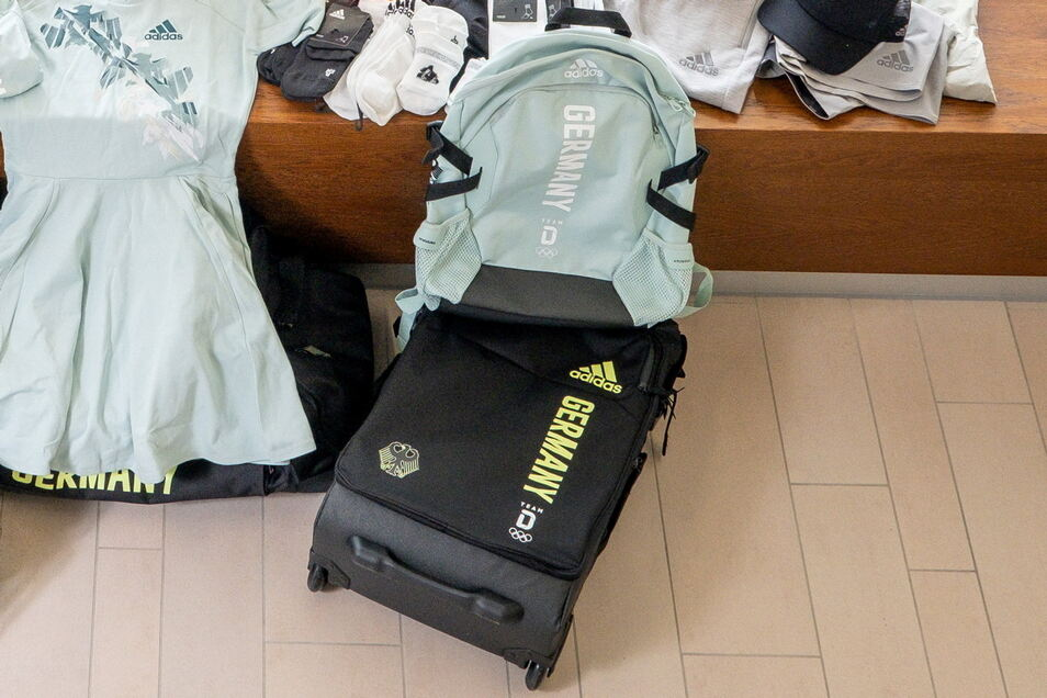 """Zwei große Taschen, ein Handgepäck-Trolley und ein Rucksack kamen in den Flieger nach Tokio. Mehr ist nicht erlaubt. """"Das reicht aber auch"""", meint Punzel."""