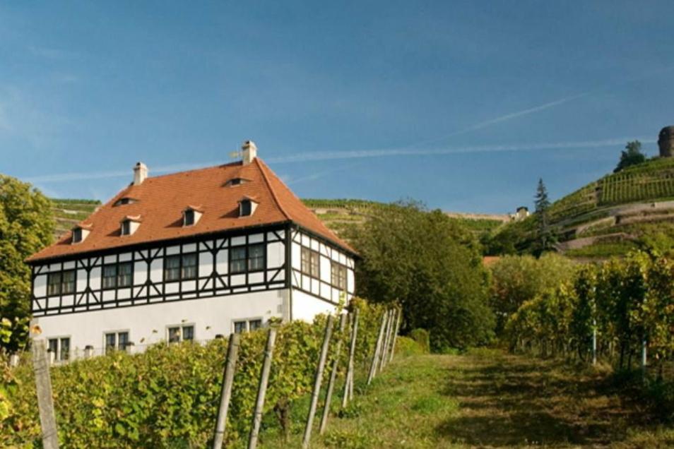 Das Radebeuler Stadtweingut Hoflößnitz war einst die Raststation der Fürsten auf dem Weg zum Bischof nach Meißen.
