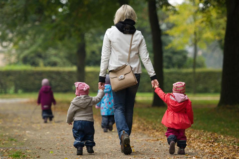 Es passiert ganz schnell, dass Kinder einmal ausbüxen. Offenbar ist solch ein Fall einer Tagesmutti in Radebeul passiert.