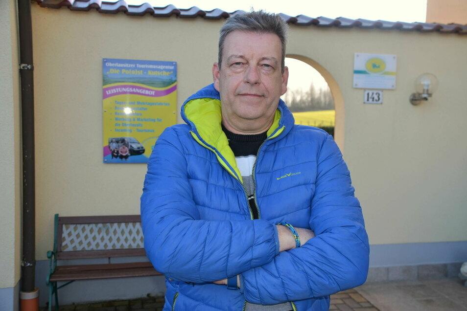 Die Po(o)st-Kutsche hat Carsten Poost vor 18 Jahren ins Leben gerufen. Er organisiert Fahrten ins Dreiländereck und darüber hinaus. Im Moment geht das aber nicht.