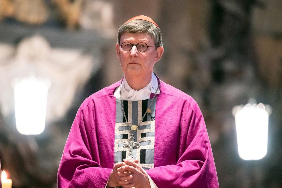 Der Kölner Kardinal Rainer Maria Woelki bleibt im Amt.