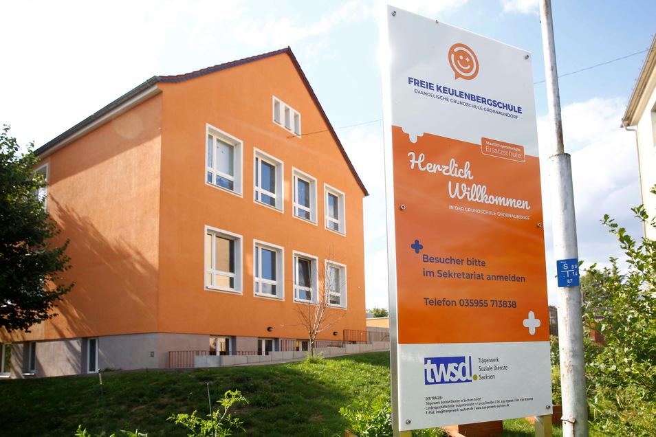 Die Keulenbergschule in Großnaundorf: Ab September gibt es hier eine Oberschule plus.