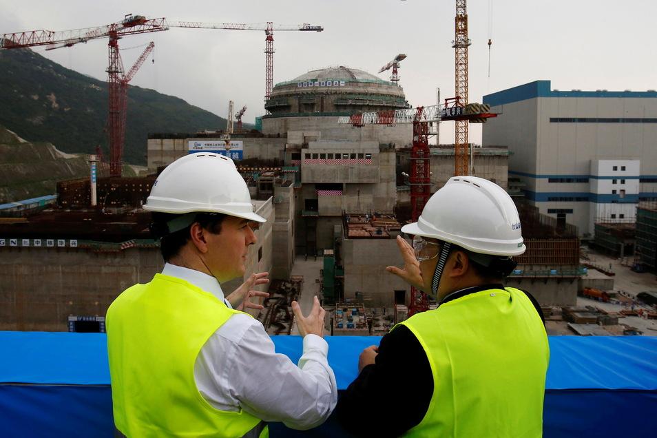 Im Kernkraftwerk in Taishan sind fünf der 60.000 Brennstäbe beschädigt.