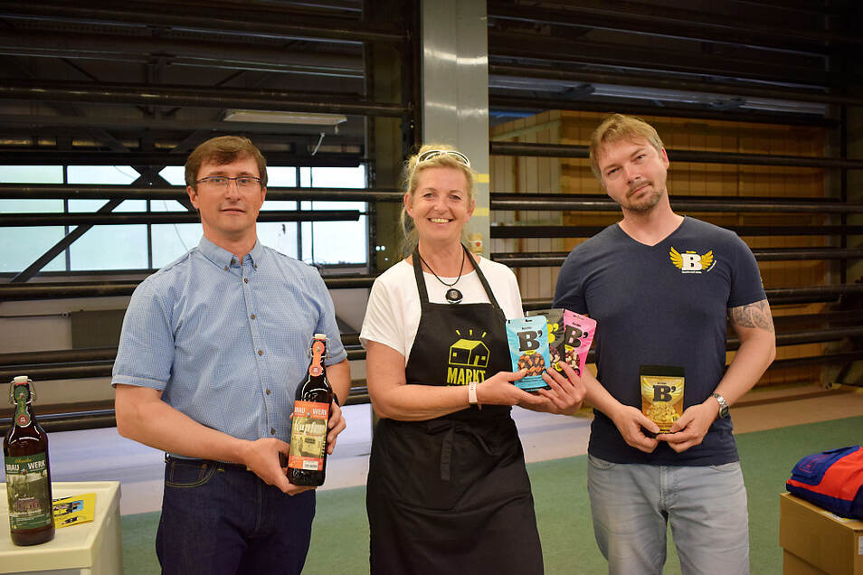 Am Freitag waren erstmals die Wittichenauer Stadtbrauerei und Berryline, als Anbieter von Nuss-Frucht-Mischungen, zu Gast in der Marktschwärmerei.