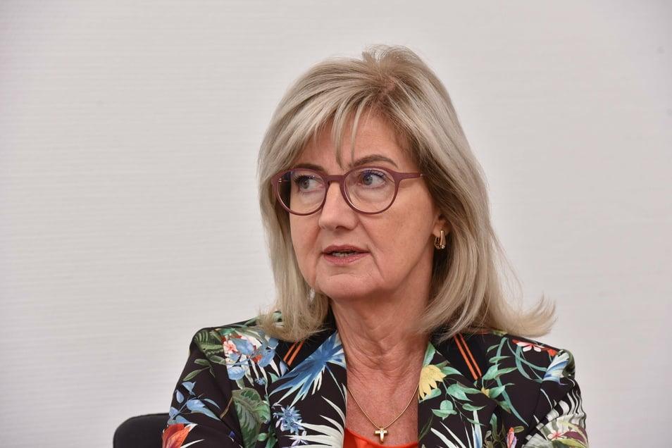 """Landtagsvizepräsidentin Andrea Dombois (CDU). """"Ich bin ganz gut davongekommen."""""""