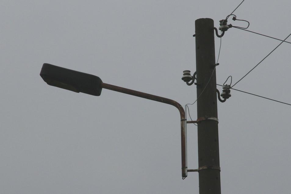 Probleme mit der Straßenbeleuchtung in Altenberg und Bärenstein (Symbolfoto).