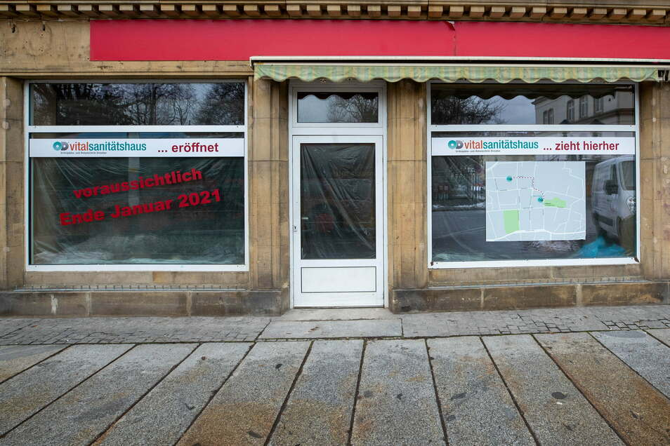 In den ehemaligen Supermarkt Nahkauf in Pirna auf der Breiten Straße zieht ein neues Geschäft ein.