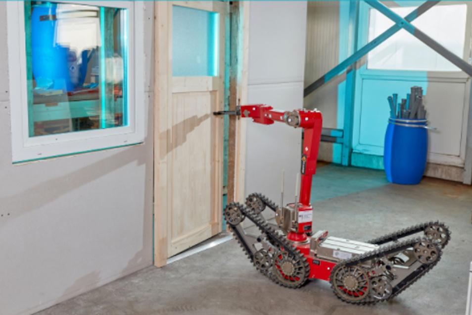 In Dortmund werden jetzt zentral Roboter entwickelt und getestet, die bei gefährlichen Situationen zum Einsatz kommen.