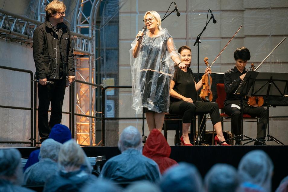 Das Auftaktkonzert vom Moritzburg Festival fand am 2. August 2020 im Regen statt.
