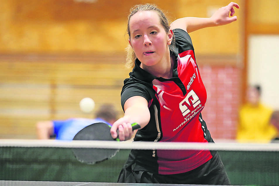 Qualifizierte sich zum ersten Mal für die Sächsische Top-16 Rangliste: Jessica Gückel vom Döbelner SV.