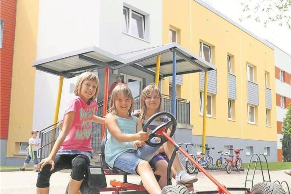 Kindergarten: Die Flohkiste, Heidenaus größte Kindereinrichtung, hat noch Platz und Erweiterungsmöglichkeiten.