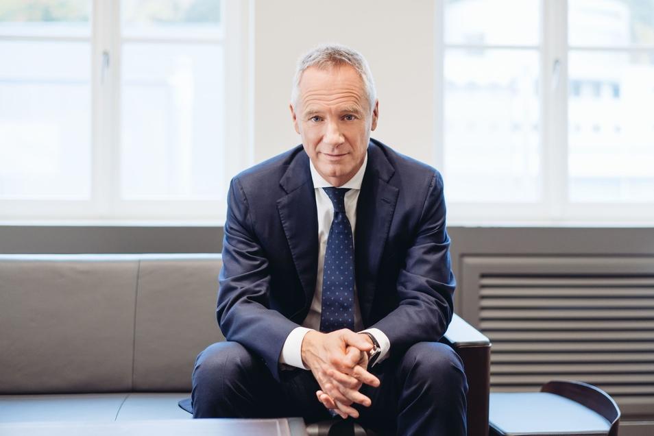 Wilhelm Schmid (56) führt als CEO die Geschäfte des Glashütter Luxusuhrenherstellers Lange Uhren.