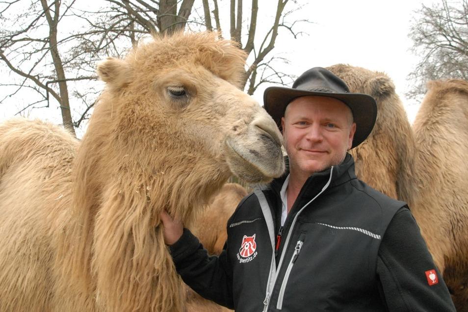 Dr. Sven Hammer - noch immer allein mit seinen Tieren und Mitarbeitern.