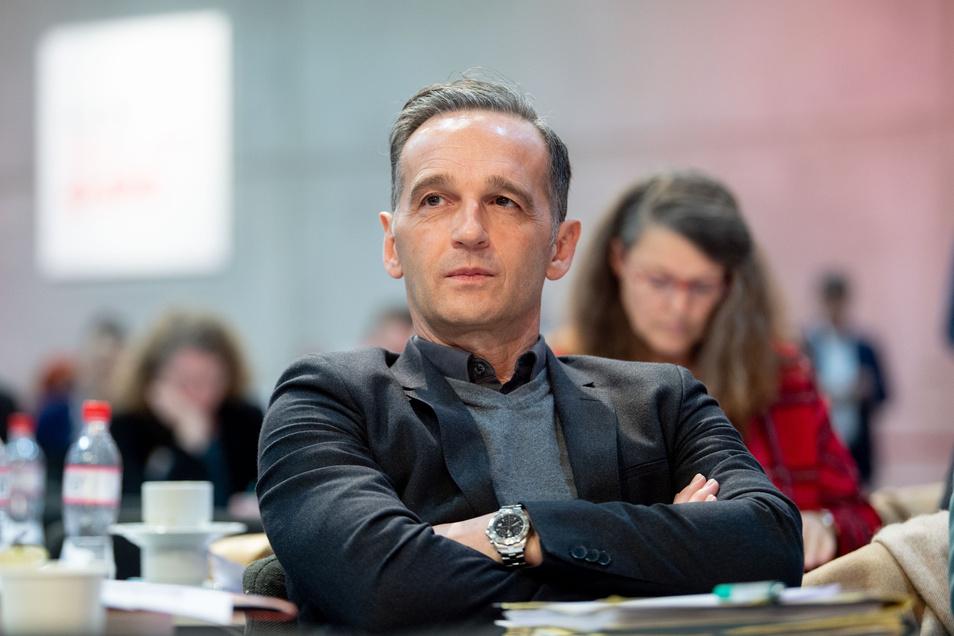 Bundesaußenminister Heiko Maas (SPD) erreichte im ersten Wahlgang für einen Sitz im erweiterten Vorstand nicht die nötigen Stimmen.