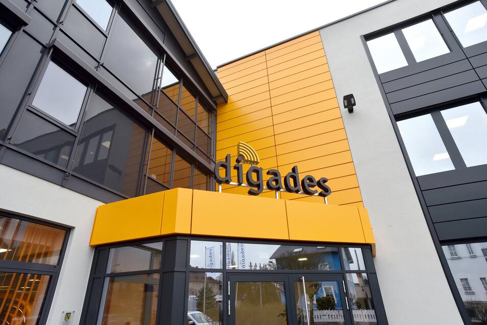 Blick auf das Entwicklungszentrum von Digades.