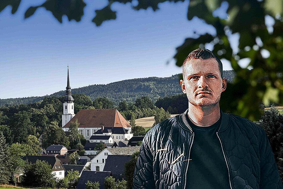 Der rechtsextreme Musiker Chris Ares will in Cunewalde Fuß fassen, der Gemeinderat lehnt das mehrheitlich ab.