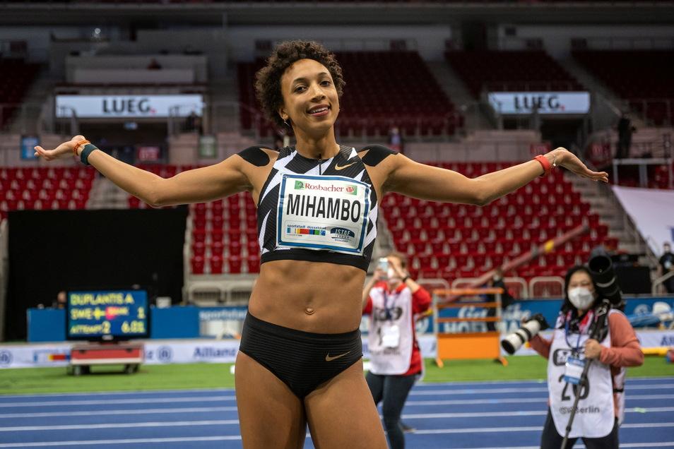 Führt das deutsche Team an und ist im Weitsprung Favoritin: Weltmeisterin Malaika Mihambo.