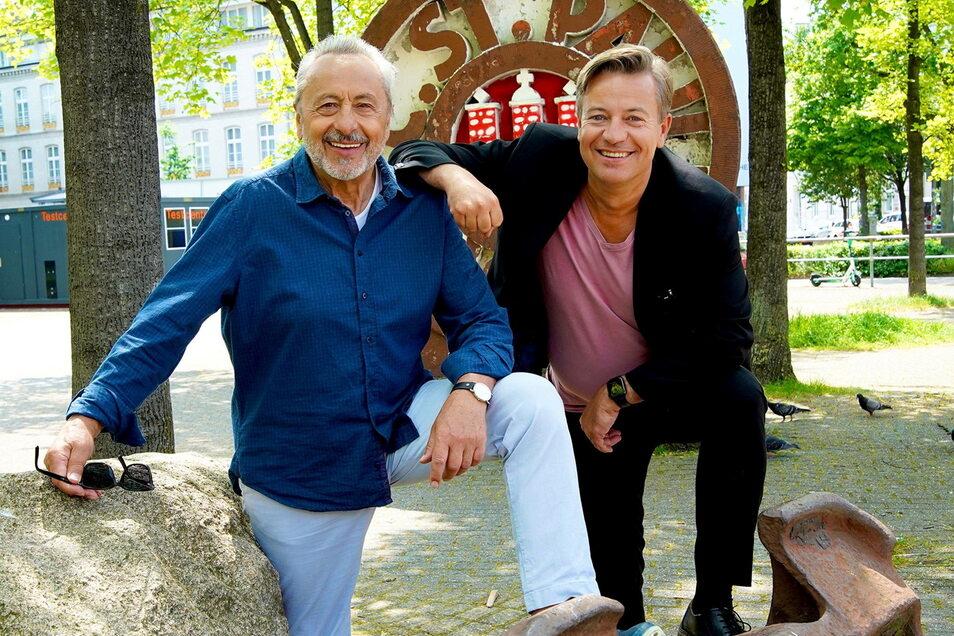 Auf seiner neusten Reise trifft Wolfgang Stumph den Juristen Arne Platzbecker, der von Dresden nach Hamburg übersiedelte.