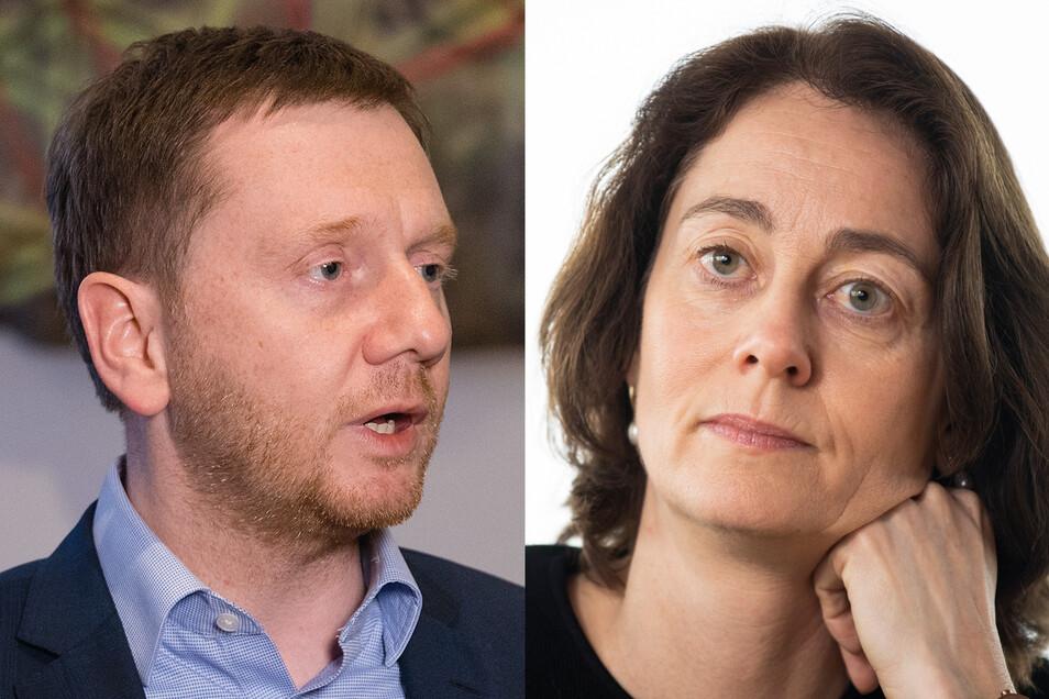 Sachsens MP Kretschmer hat Äußerungen der Europapolitikerin Barley scharf kritisiert.