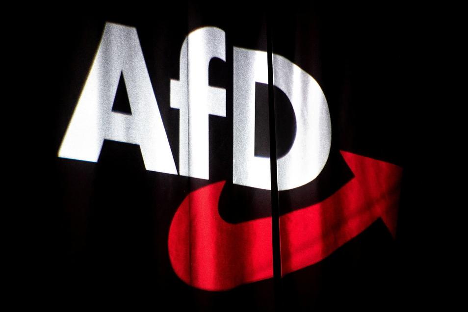 Das AfD-Büro in Annaberg-Buchholz ist in der Nacht Opfer eines Farbanschlages geworden.