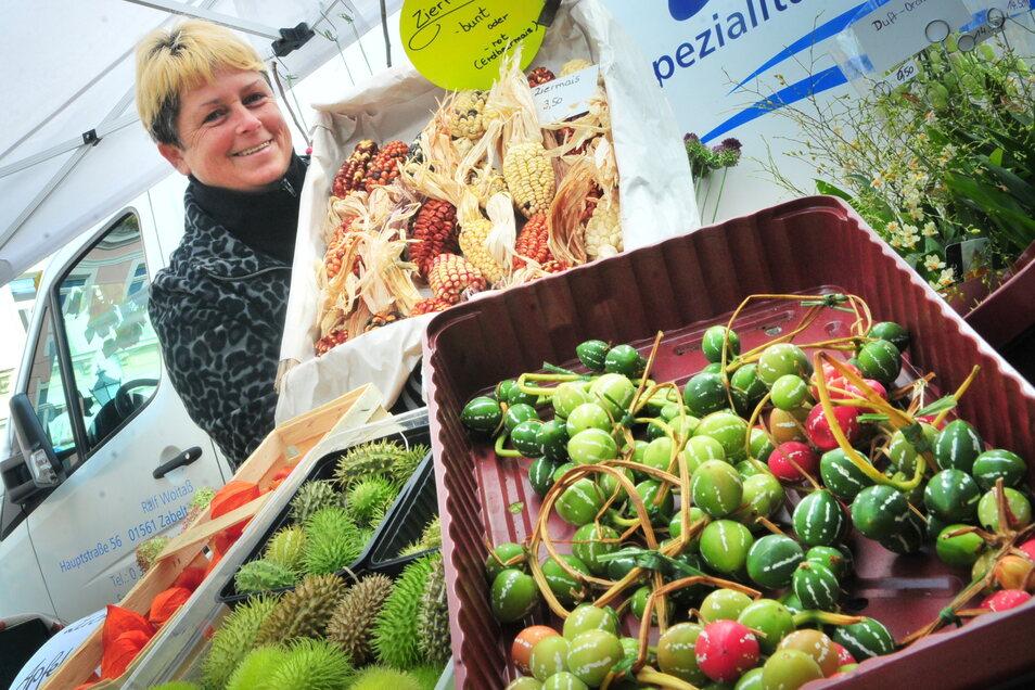 Beim Großenhainer Bauernmarkt am 3. Oktober ist viel geplant. Händler stehen in den Startlöchern.