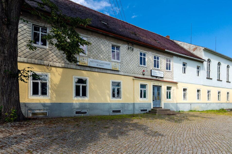 Der Mittelgasthof in Burkau ist seit einiger Zeit ungenutzt.
