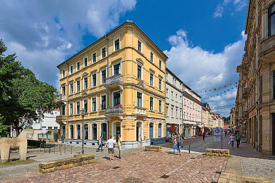 Denkmalg. Wohn- und Geschäftshaus aus der frühen Gründerzeit in Pirna / Mindestgebot 1.495.000 Euro
