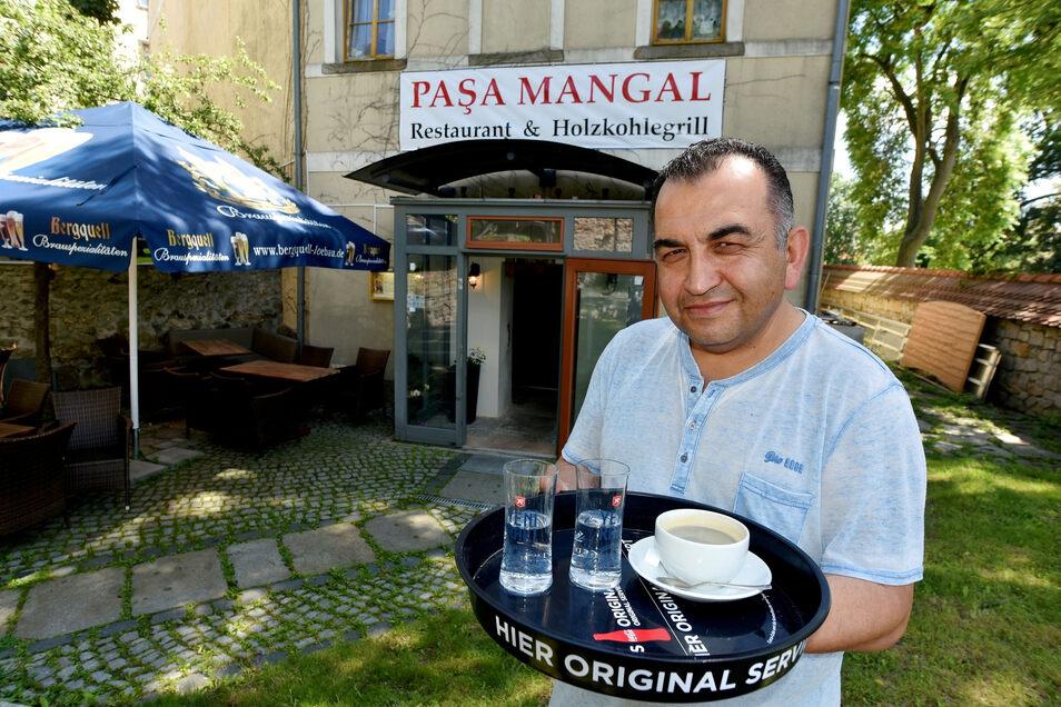 """Am Katzenturm hat Mehmet Budak sein türkisches Restaurant """"Pasa Mangal"""" eröffnet."""