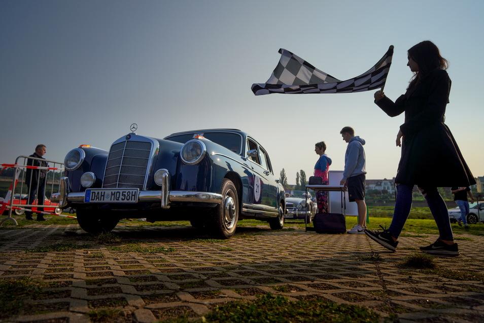 Oldtimer aller Art sind bei der Rallye Elbflorenz mit am Start. Am Sonnabend fahren sie unter anderem durch Rammenau, Bischofswerda und Wilthen.