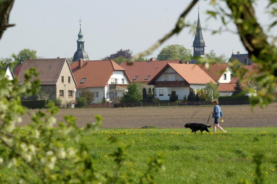 In Schönfeld läuft bereits der Glasfaserausbau.