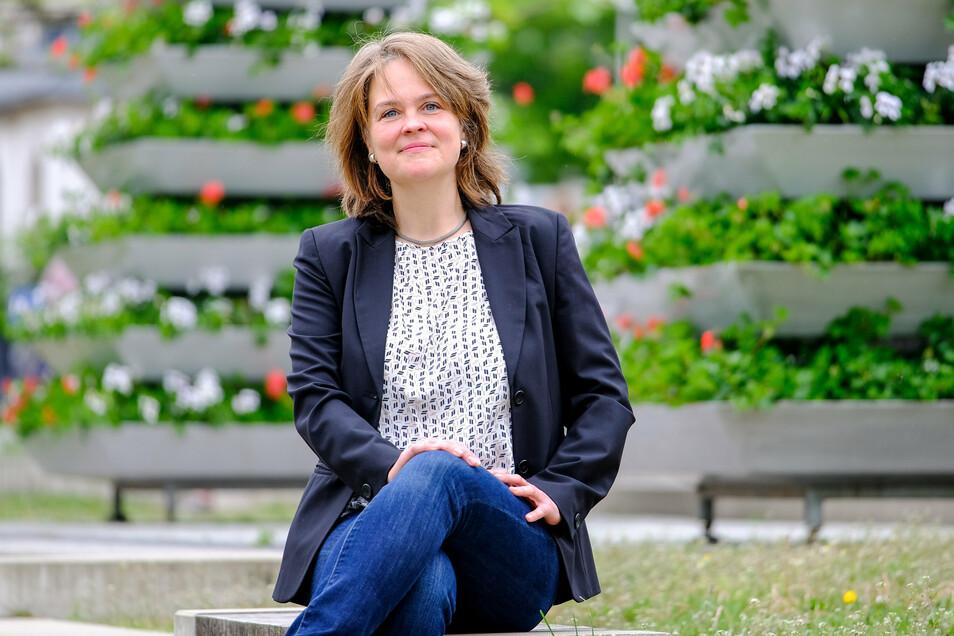 Elke Siebert tritt im November für die Grünen zur Landratswahl im Kreis Meißen an. Seit Mittwochabend kann sie auf die Unterstützung der Sozialdemokraten im Landkreis zählen.