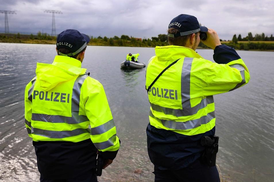 Auch am Donnerstag sucht die Polizei noch nach dem vermissten Mann.