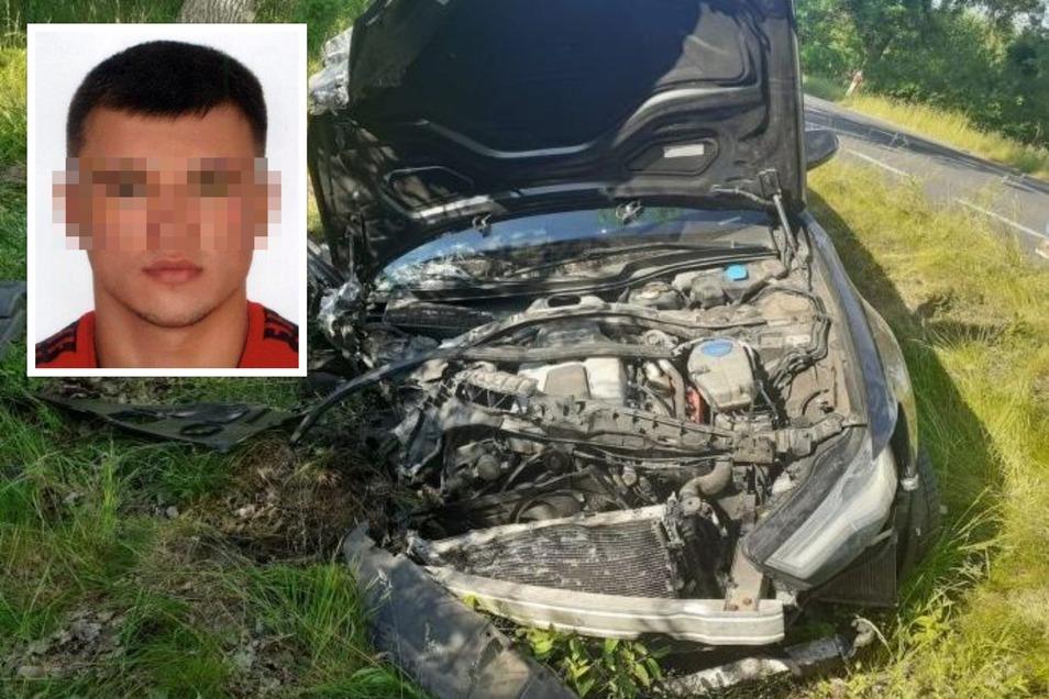Bei dem Unfall am 6. Juni auf der Straße auf der Strecke von Zgorzelec nach Bogatynia raste Dominik H. mit seinem Audi A6 in den VW Passat einer dreiköpfigen Familie. Er flüchtete zu Fuß.
