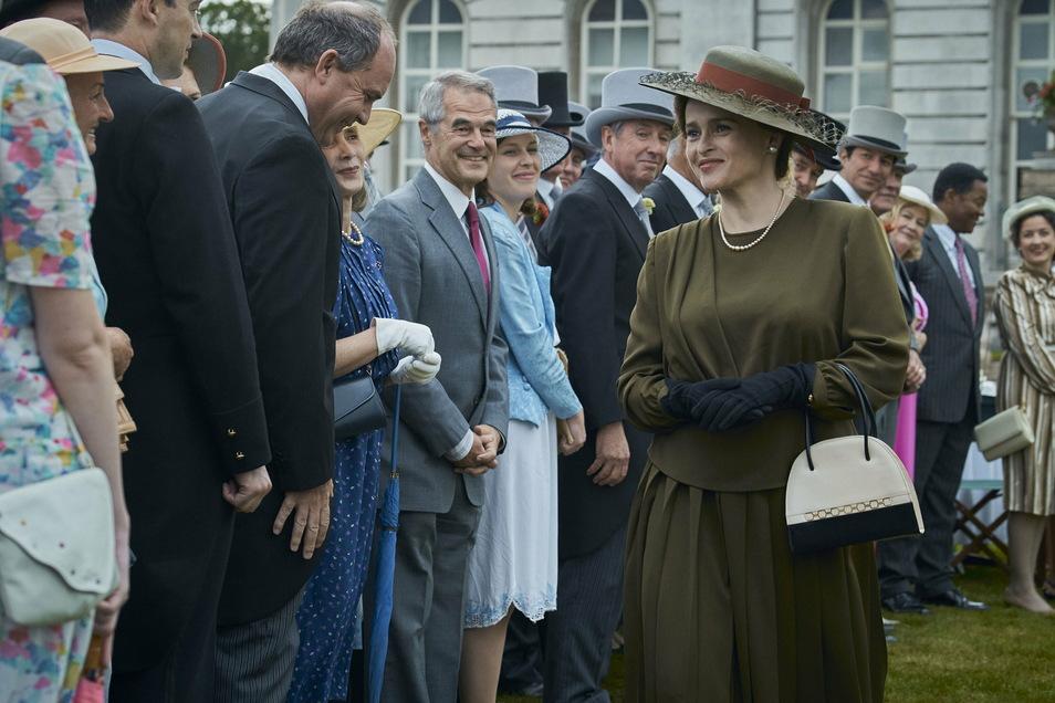 Princess Margaret (Helena Bonham Carter) in einer Szene der vierten Staffel der Netflix-Serie «The Crown». Die jüngste Staffel steht zunehmend in der Kritik.