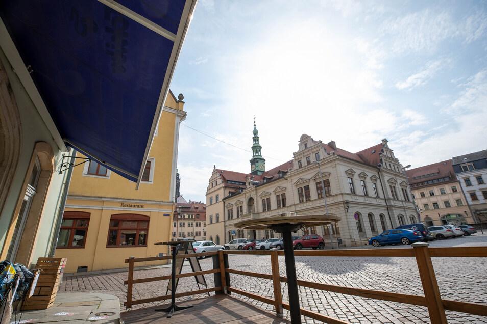 Rathaus Pirna: Ab 11. Mai wieder offen für Besucher.