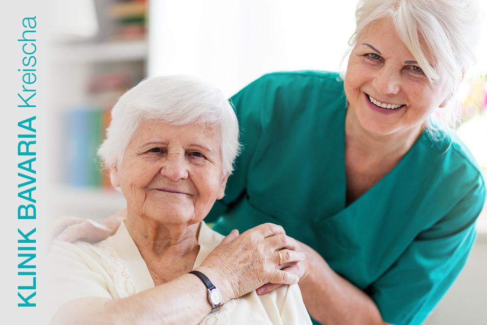 Eine Pflegetätigkeit in der KLINIK BAVARIA Kreischa ist auch auf Mini-Job-Basis möglich.