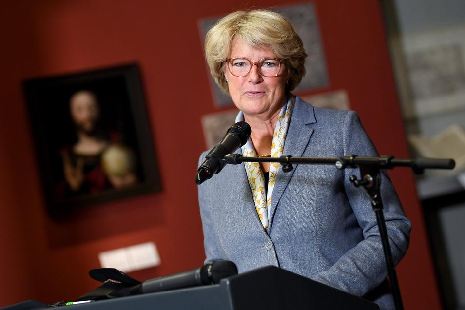 Monika Grütters (CDU), Kulturstaatsministerin.