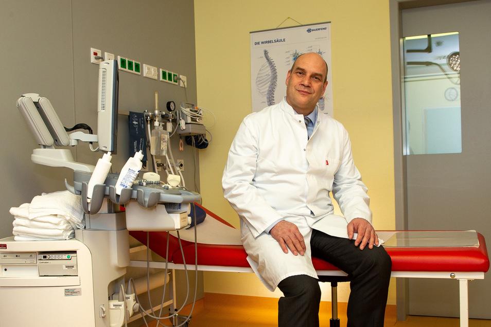 Mit Dr. Christian Schmidt erhöhen sich die Kompetenzen in der Sächsische-Schweiz-Klinik in Sebnitz.