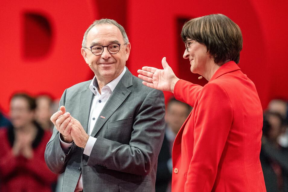Saskia Esken und Norbert Walter-Borjans sind die neuen Vorsitzenden der SPD.