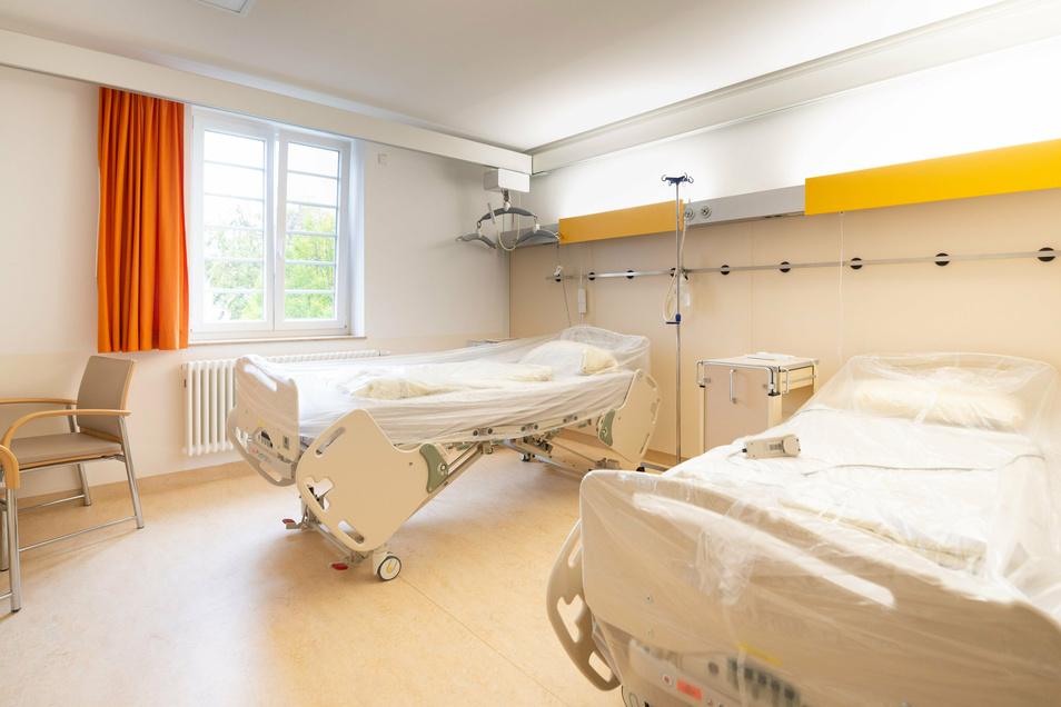 Auch so sieht es im Neustädter Krankenhaus aus: Die Station für schwergewichtige Patienten ist erst vor zwei Jahren fertig geworden. Das Gebäude wurde dafür komplett entkernt. Eine teure Angelegenheit.